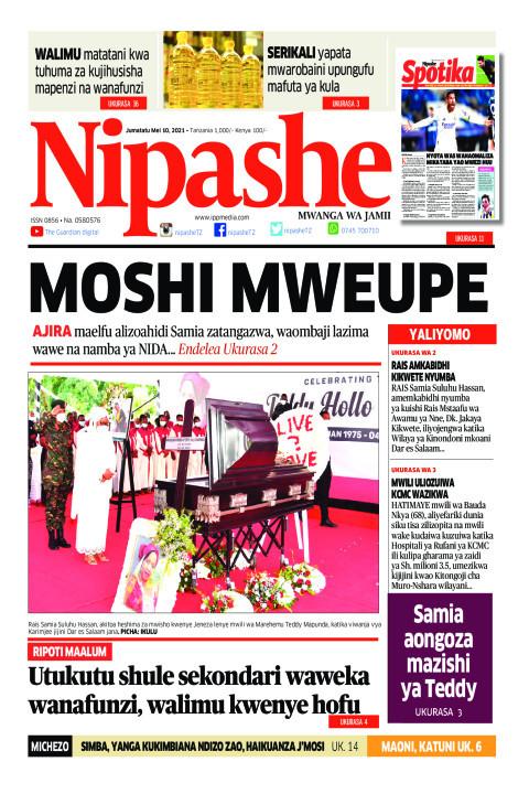 MOSHI MWEUPE | Nipashe