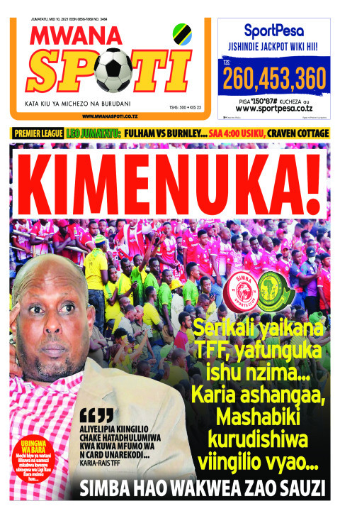 KIMENUKA!!  | Mwanaspoti