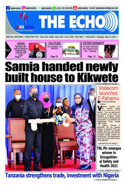 Samia handed newly built house to Kikwete  | The ECHO