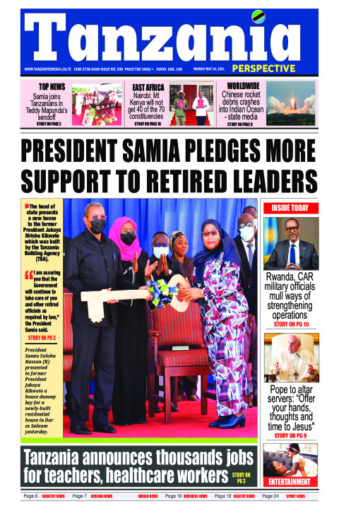 President Samia pledges more support to retired leaders | Tanzania Perspective