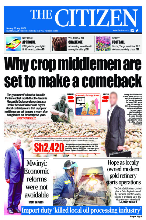 WHY CROP MIDDLEMEN ARE SET TO MAKE A COMEBACK  | The Citizen