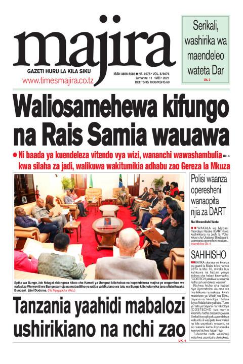 Waliosamehewa kifungo na Rais Samia wauawa | MAJIRA