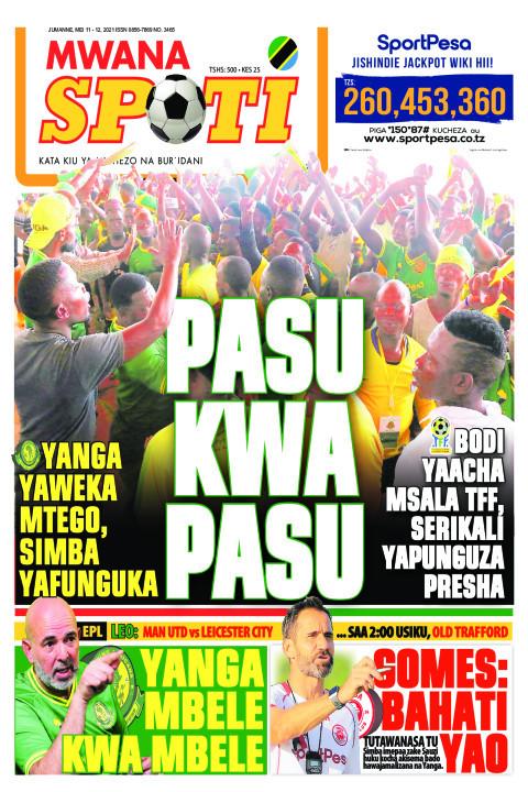 PASU KWA PASU  | Mwanaspoti