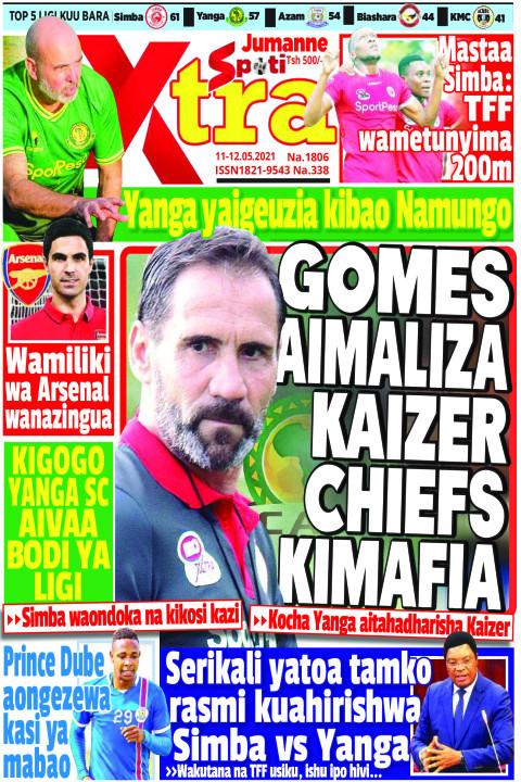 GOMES AIMALIZA KAIZER CHIEFS KIMAFIA | SpotiXtra Jumanne
