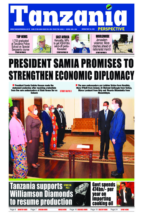 PRESIDENT SAMIA PROMISES TO