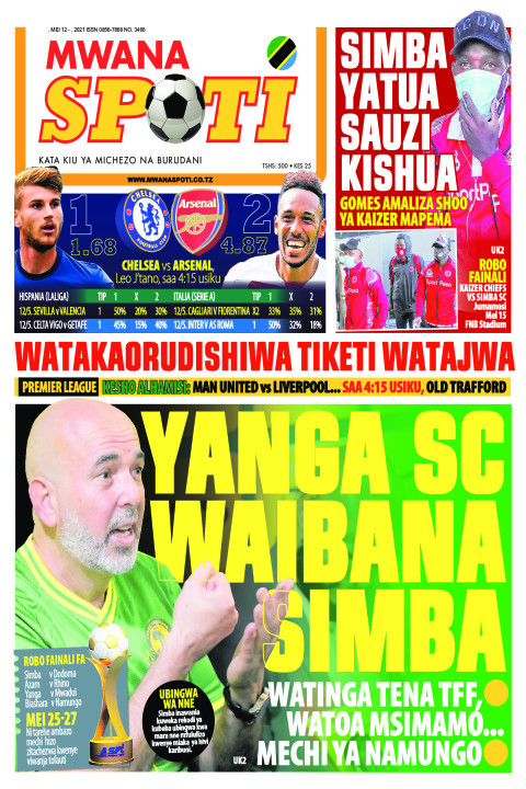 YANGA SC WAIBANA SIMBA  | Mwanaspoti