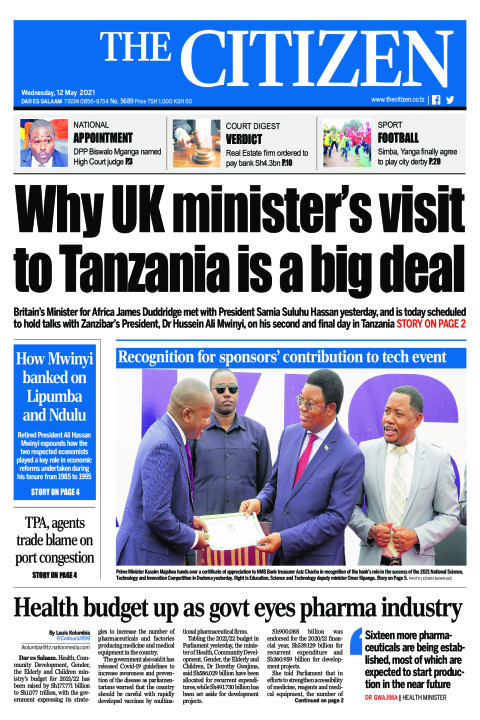 WHY UK MINISTER'S VISIT TO TANZANIA IS A BIG DEAL  | The Citizen