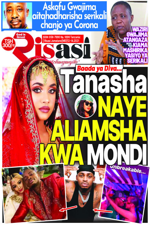Tanasha NAYE ALIAMSHA KWA MONDI | Risasi Mchanganyiko