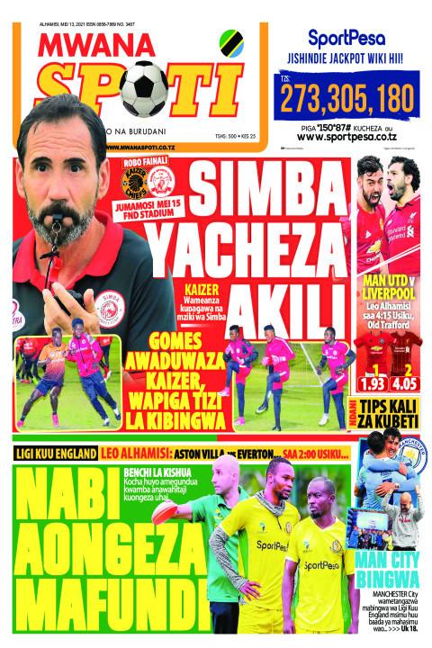 SIMBA YACHEZA AKILI,NABI AONGEZA MAFUNDI  | Mwanaspoti