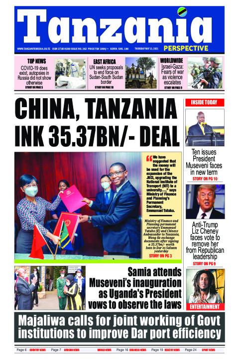 China, Tanzania ink 35.37bn/- deal | Tanzania Perspective