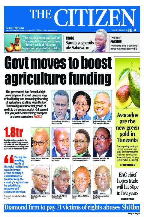 GOVT MOVES TO BOOST AGRICULTURE FUNDING  | The Citizen