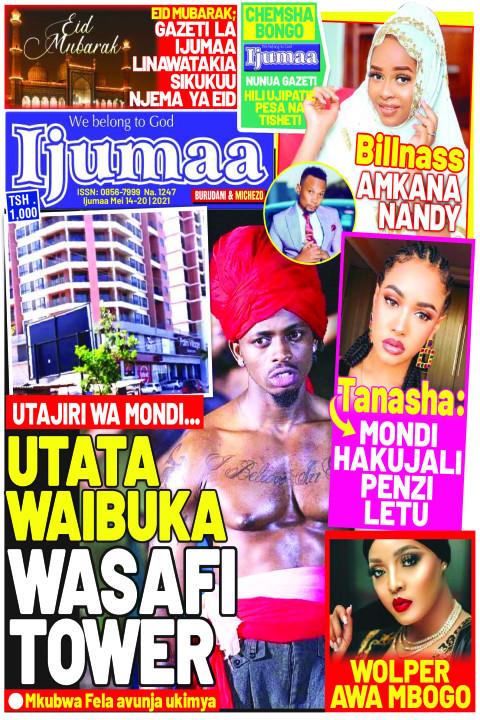 UTATA WAIBUKA WASAFI TOWER | Ijumaa Ijumaa