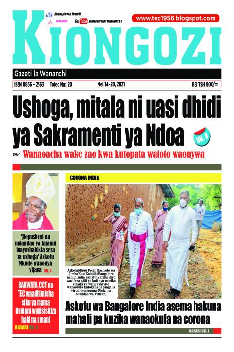 Ushoga, mitala ni uasi dhidi ya Sakramenti ya Ndoa | Kiongozi