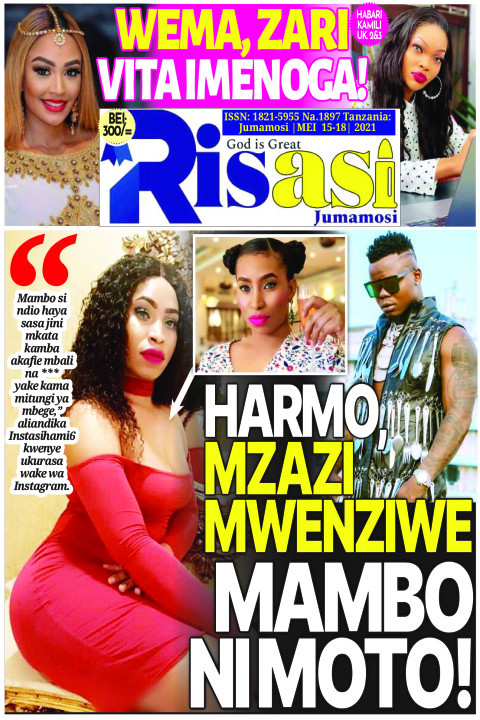 HARMO MZAZI MWENZIE MAMBO NI MOTO! | Risasi Jumamosi