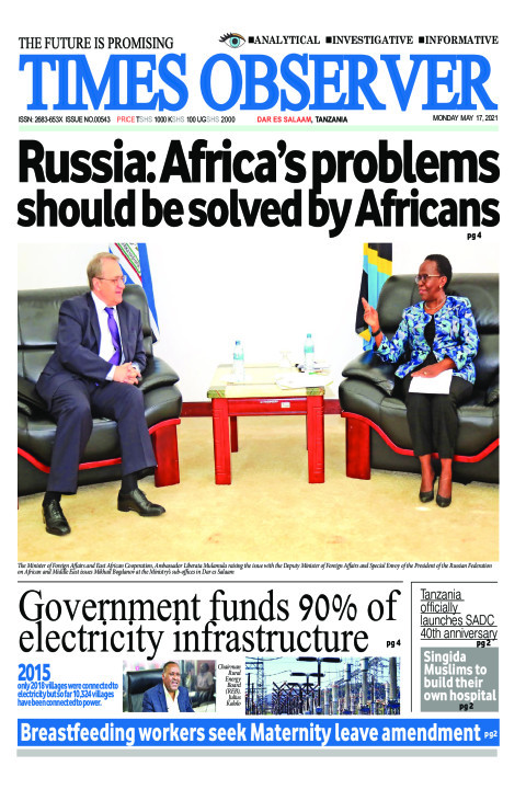 Russia: Africa's problems should be  solved by Africans | Times Observer
