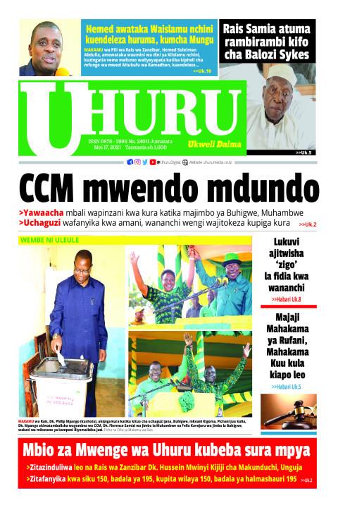 CCM mwendo mdundo | Uhuru