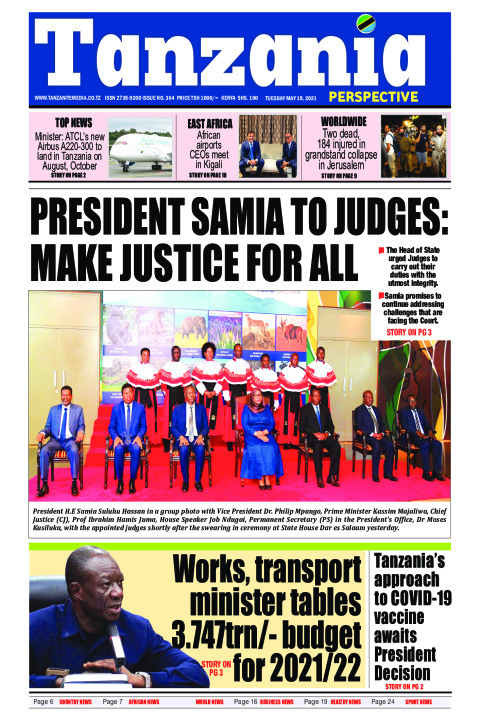 President Samia to Judges: Make justice for all | Tanzania Perspective