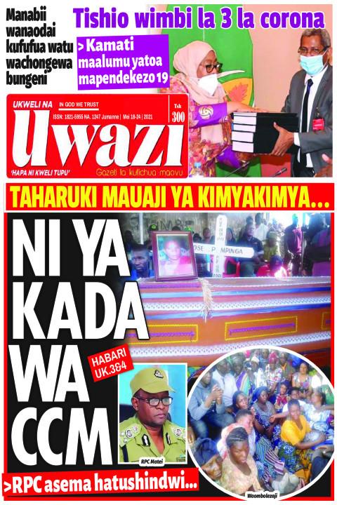 NI YA KADA WA CCM | Uwazi