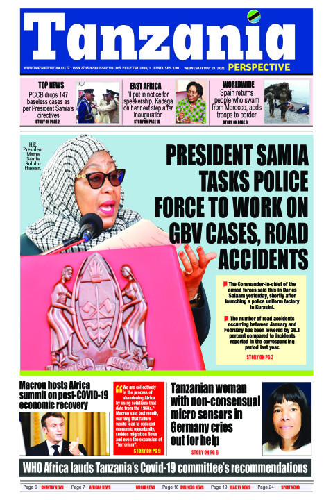 PRESIDENT SAMIA TASKS POLICE FORCE TO WORK ON GBV CASES, ROA | Tanzania Perspective