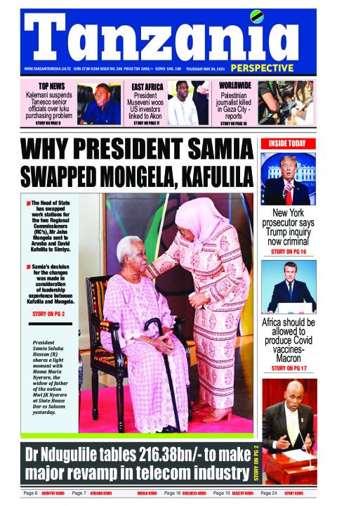 WHY PRESIDENT SAMIA SWAPPED MONGELA, KAFULILA | Tanzania Perspective