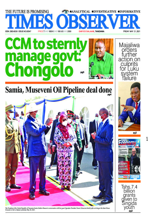 CCM to sternly manage govt: Chongolo | Times Observer