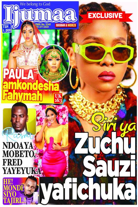 Siri ya Zuchu Sauzi Yafichuka | Ijumaa Ijumaa
