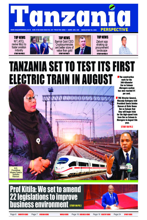 Tanzania set to test its first electric train in August | Tanzania Perspective