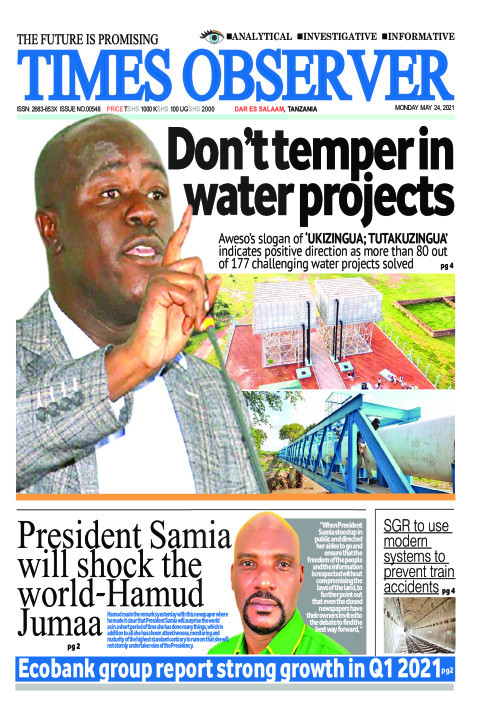 Don't temper in water projects | Times Observer