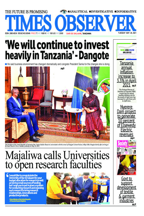'We will continue to invest heavily in Tanzania' - Dangote | Times Observer