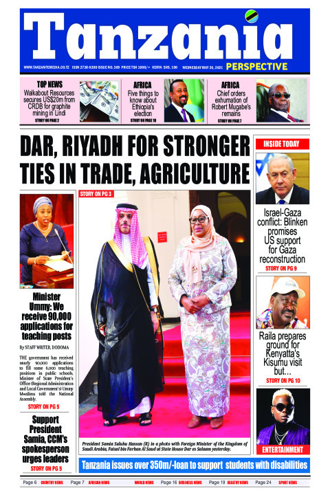 Dar, Riyadh for stronger ties in trade, agriculture | Tanzania Perspective