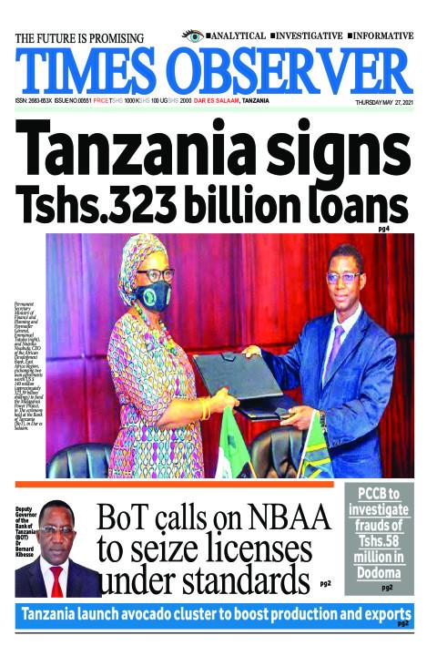 Tanzania signs Tshs.323 billion loans | Times Observer