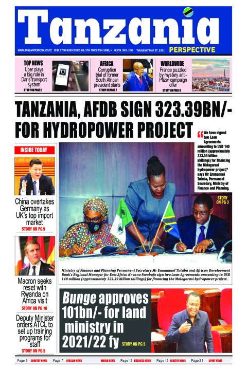 Tanzania, AfDB sign 323.39bn/- for hydropower project | Tanzania Perspective