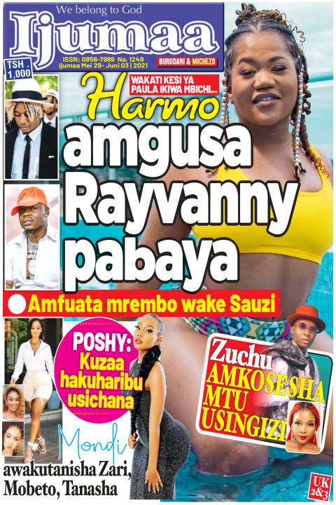 Harmo amgusa Rayvanny pabaya | Ijumaa Ijumaa