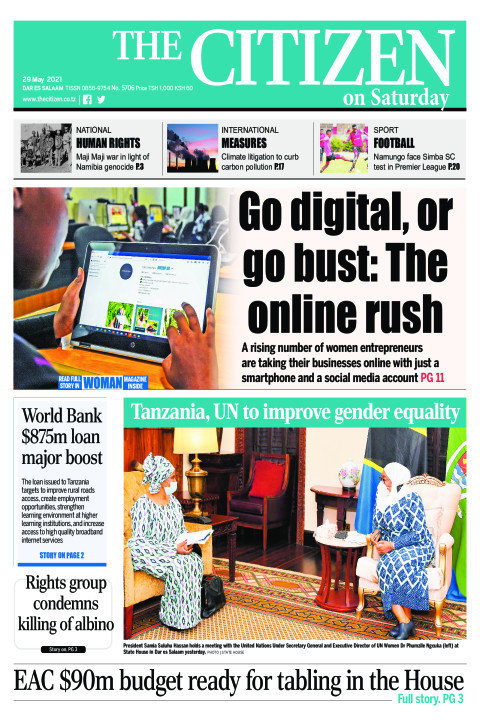 GO DIGITAL,OR GO BUST: THE ONLINE RUSH  | The Citizen