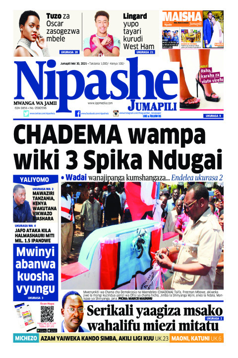 CHADEMA wampa wiki 3 Spika Ndugai | Nipashe