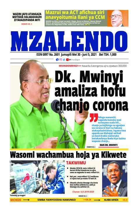 Dk. Mwinyi amaliza hofu chanjo corona | Mzalendo