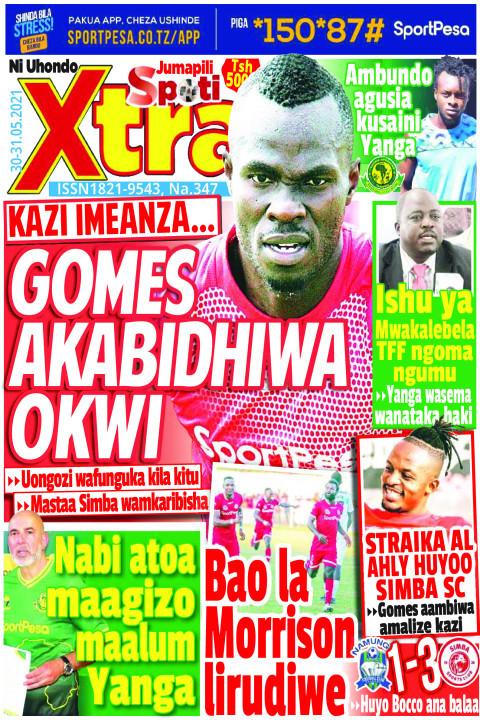 GOMES AKABIDHIWA OKWI | SpotiXtra Jumapili