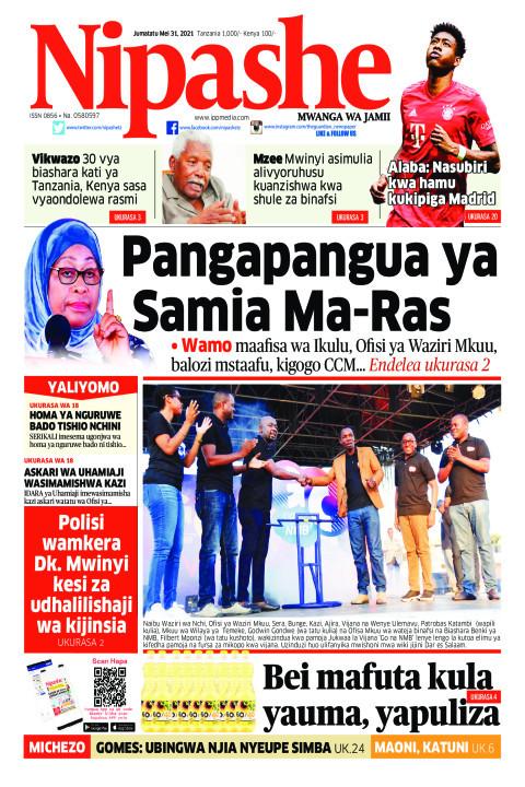 Pangapangua ya Samia Ma-Ras | Nipashe