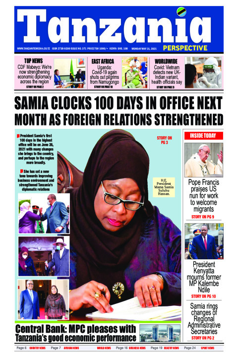 Samia clocks 100 days in office next month as foreign relati | Tanzania Perspective