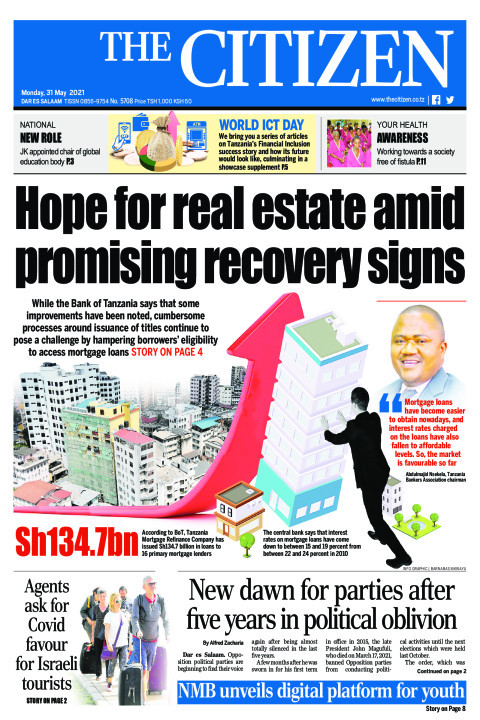 HOPE FOR REAL ESTATE AMID PROMISING RECOVERY SIGNS  | The Citizen