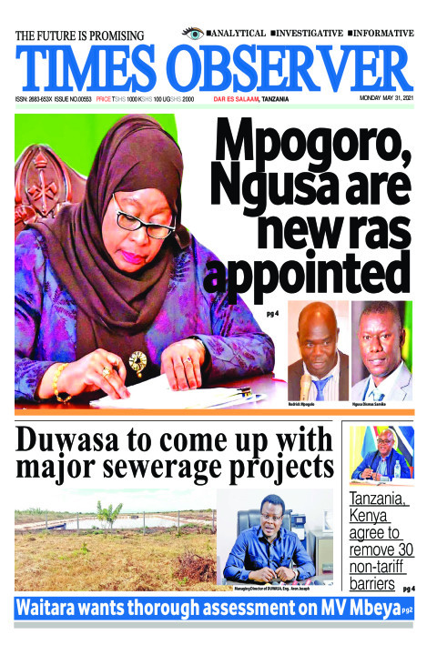 Mpogoro, Ngusa are new ras  appointed  | Times Observer