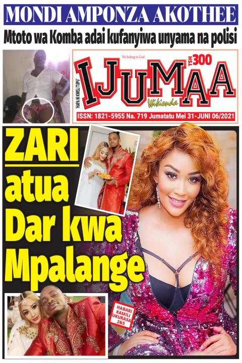 ZARI atua Dar kwa Mpalange   Ijumaa Wikienda