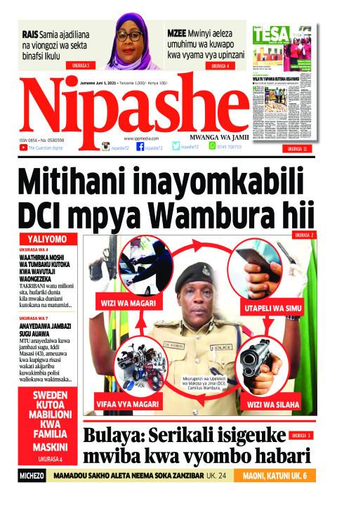 Mitihani inayomkabili DCI mpya Wambura hii | Nipashe