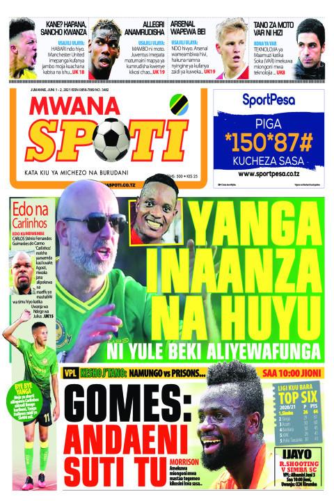 YANGA INAANZA NA HUYU  | Mwanaspoti