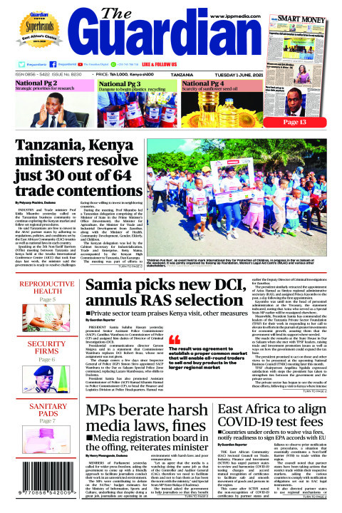 Tanzania, Kenya ministers resolve just 30 out of 64 trade co | The Guardian
