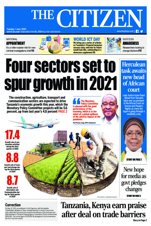 FOUR SECTORS SET TO SPUR GROWTH IN 2021  | The Citizen