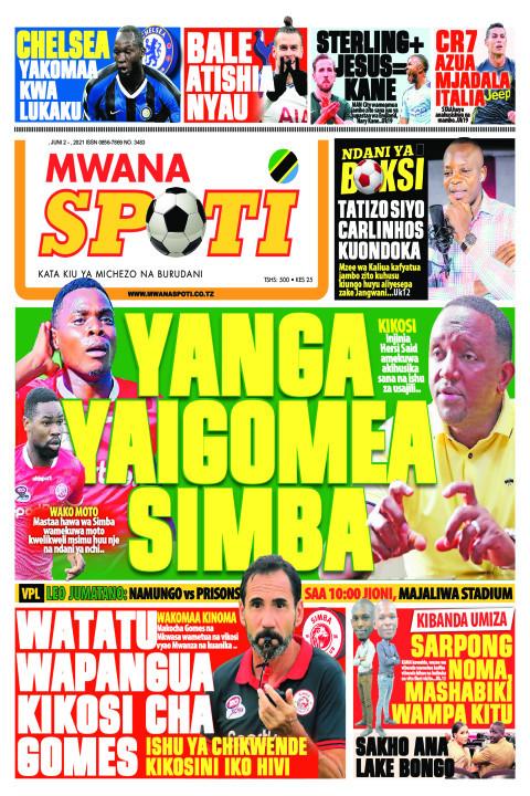 YANGA YAIGOMEA SIMBA   | Mwanaspoti