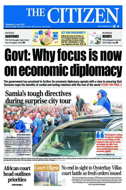 GOVT: WHY FOCUS IS NOW ON ECONOMIC DIPLOMACY  | The Citizen