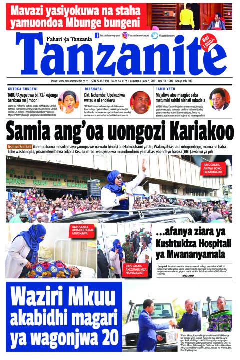 Samia ang'oa uongozi Kariakoo | Tanzanite