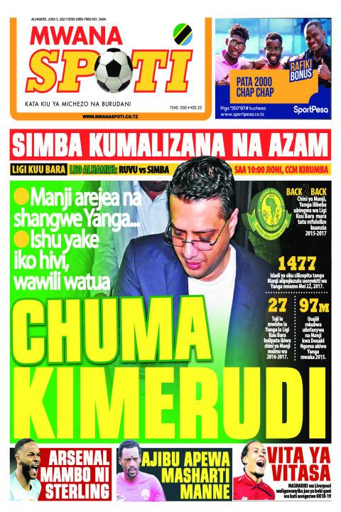 CHUMA KIMERUDI  | Mwanaspoti